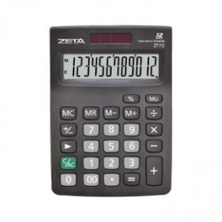 Calculadora de Mesa ZT-712 Zeta