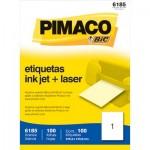 Etiqueta Ink-Jet Carta c/ 25 Folhas Pimaco