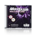 DVD+R Dual Layer 8.5G Multilaser